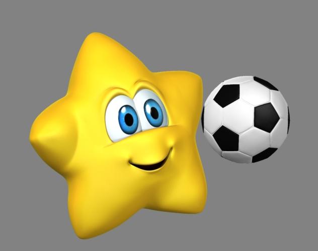con balon de futbol